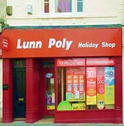 Lunn Poly Travel agent shop - now thomson