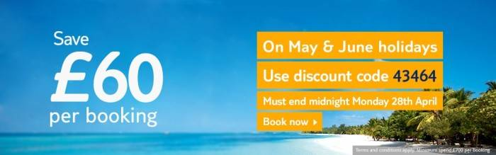 Save money with thomson holidays