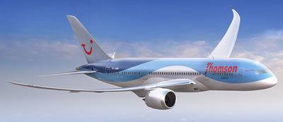 TUI Dreamliner, Sunstart Holidays TUI, Skytours, First Choice