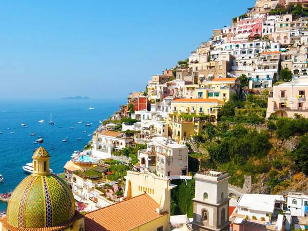 the Neopolitan Riviera -The breath-taking Neapolitan Riviera is known for its spectacular scenery