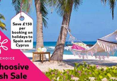 Mahoosive Flash Sale. Save £150 per booking on holidays to Spain and Cyprus