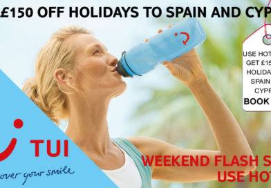 GET £150 OFF HOLIDAYS TO SPAIN AND CYPRUS