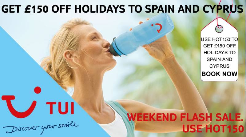 tui hot150 weekend code