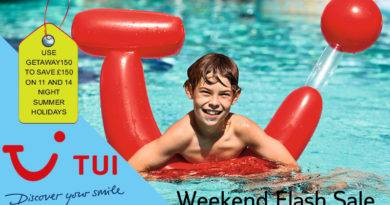 tui weekend flash sale