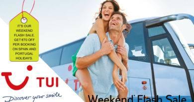 TUI Ireland Weekend Flash Sale