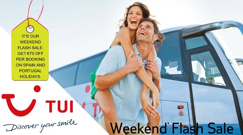 tui weekend flash sale ireland