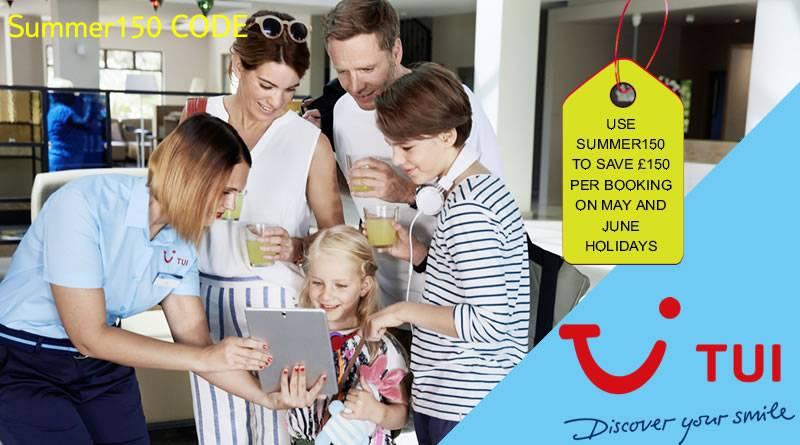 tui weekend flash sale summer150