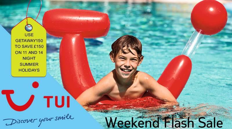 tui weekend flash sale