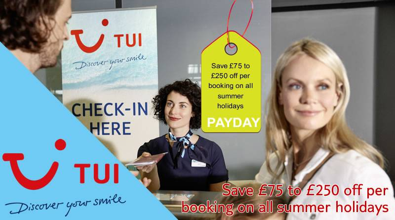 tui payday offers