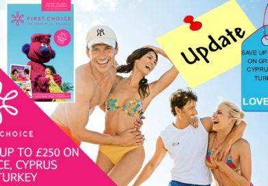 SAVE UP TO £250 ON GREECE, CYPRUS AND TURKEY