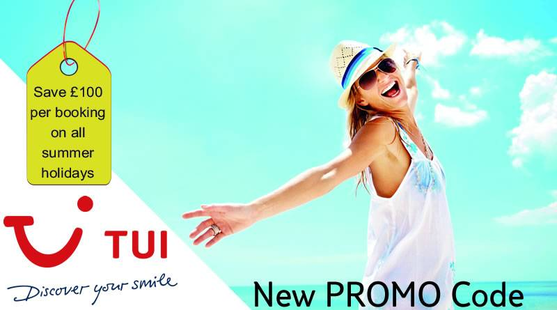 New TUI Promo Code for TUI holidays to save £100 off your holiday