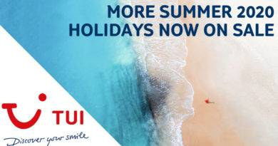 Summer 2020 with TUI now on sale