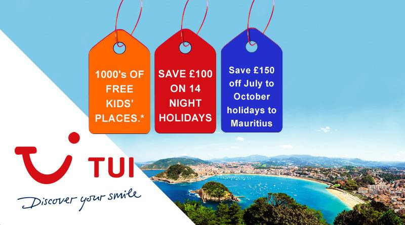 New TUI Easter Codes + STILL FREE KIDS PLACES