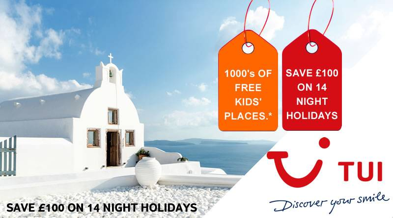 A DEAL WE CAN ALL AGREE ON, SAVE £100 ON 14 NIGHT HOLIDAYS