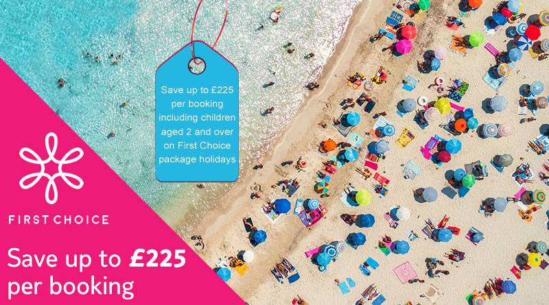 UP TO £225 ON SELECTED SUMMER ESCAPES