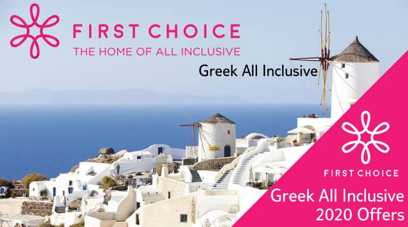 First Choice All Inclusive Greek Holidays
