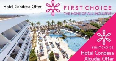 First Choice January Sale, Sunstart Holidays TUI, Skytours, First Choice