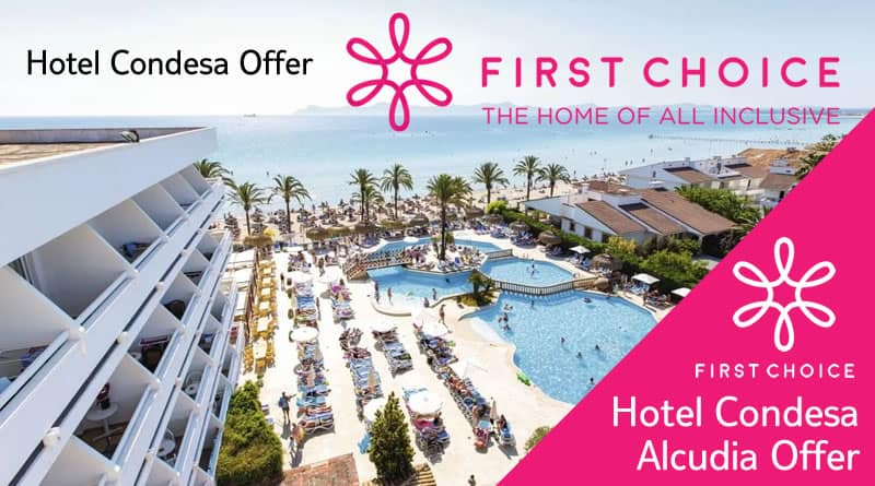 Holiday to Hotel Condesa in ALCUDIA (SPAIN) for 14 nights (AI) departing from EDI on 25 Apr, Sunstart Holidays TUI, Skytours, First Choice