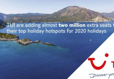 2 million extra seats with TUI for 2020
