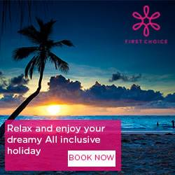, Sunstart Holidays TUI, Skytours, First Choice