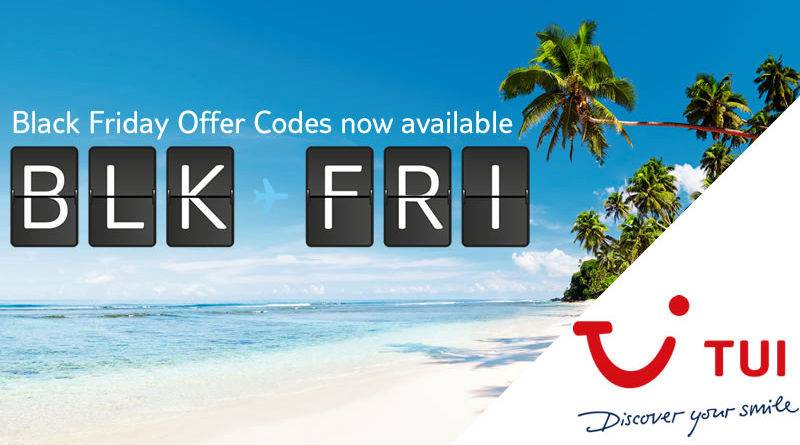 tui black friday offers