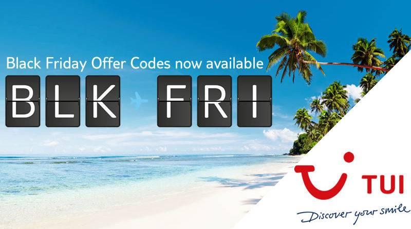 TUI Black Friday Discounts