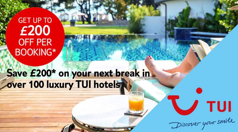 TUI Luxury Discount Offer