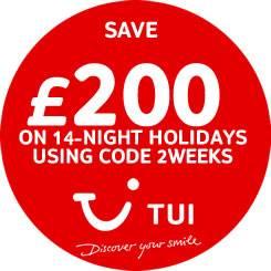 Save on 2 week holidays