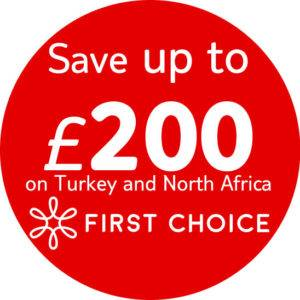 Save on holidays to Turkey and North Africa