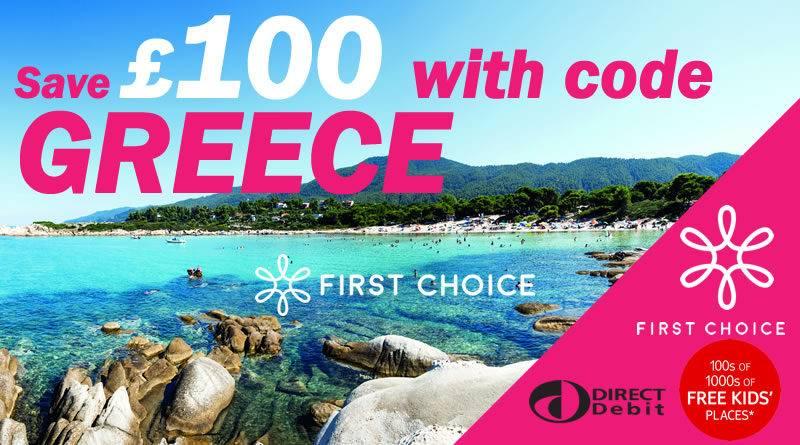 First Choice Greece Offer
