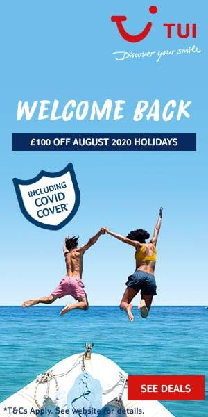 TUI August Offers