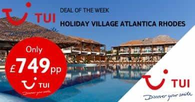 Holiday Village Atlantica Rhodes in Kolymbia, Rhodes