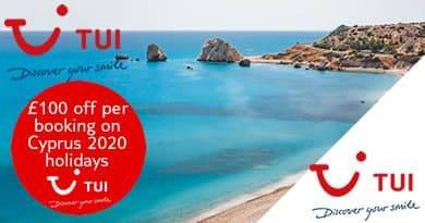 TUI Cyprus discount code