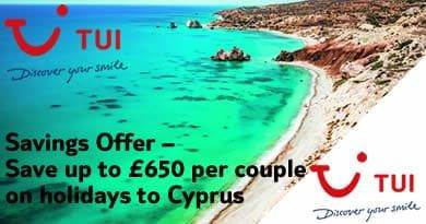Couples deals to Cyprus