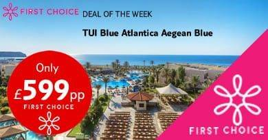 TUI Blue Atlantica Aegean Blue