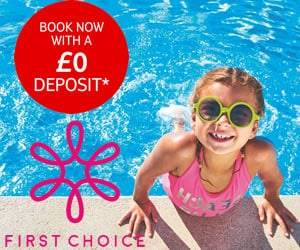 First Choice no deposit holidays