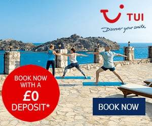 no deposit holidays with TUI