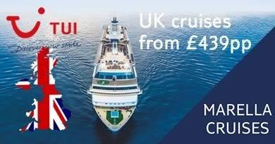 Set sail from Southampton onboard Marella Explorer