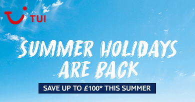 SAVE UP TO £100 THIS SUMMER USING CODE SUMMER