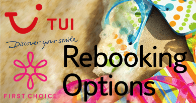 TUI and First Choice rebooking options