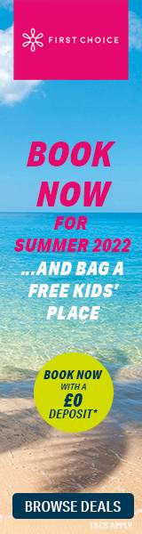 Free child places with First Choice Holidays