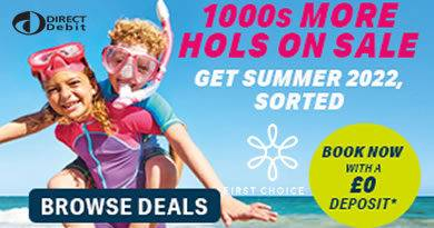 First Choice no deposit discount codes including free child places