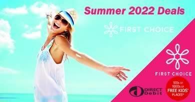 No deposit 2022 holidays
